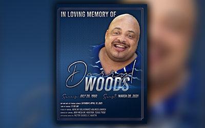 Darryl Woods 1960 -2021