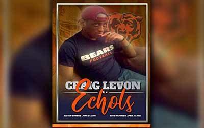 Craig Levon Echols 1995 – 2021
