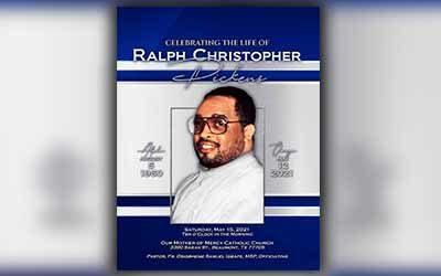 Ralph Christopher Pickens 1960 – 2021