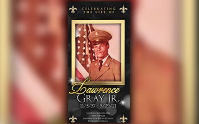 Lawrence Gray Jr 1957-2021
