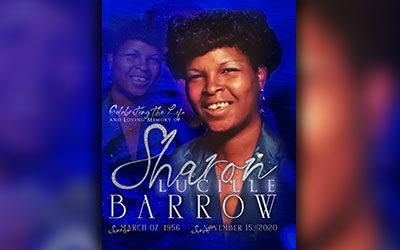 Sharon Lucille Barrow 1956 – 2020