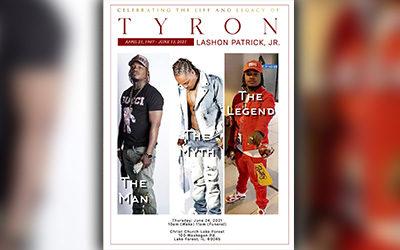 Tyron T. Patrick 1987-2021