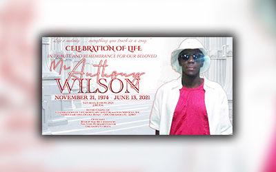 Anthony Wilson 1974-2021