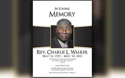 Charlie Walker 1935-2021