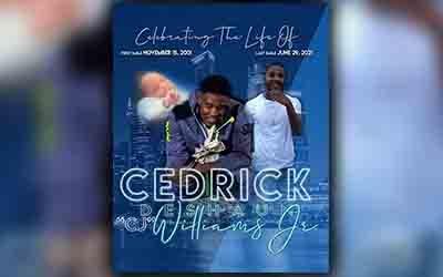 Cedrick CJ Williams 2001-2021