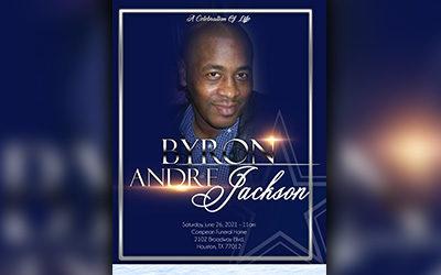Byron Andre Jackson 1968-2021