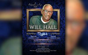 Will Hall 1941-2020