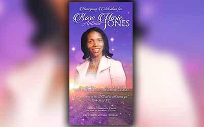 Rose Marie Jones 1948 – 2021