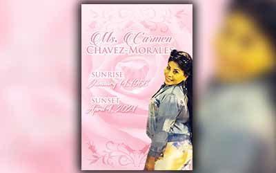 Carmen Chaves Morales 1966 – 2021
